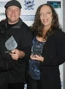 Jim Landis and Adriane Coros