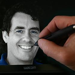 Foster's self portrait